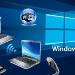 Как раздать WiFi с ноутбука с Windows 10